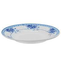 Набор круглых суповых тарелок Stenson Грация 22.9 см 6 шт (MS-2396-4576)