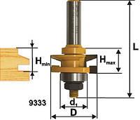 Фреза комбинированная рамочная ф41.3х26, хв.12мм (арт.9333)