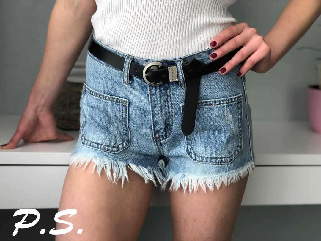 e512f6c215f0 Новинка 2019! Молодёжные, женские, джинсовые шорты с бахромой и карманами  РАЗНЫЕ ...