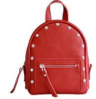 Женский кожаный рюкзак Jizuz Baby Sport BS23177R, красный, фото 1
