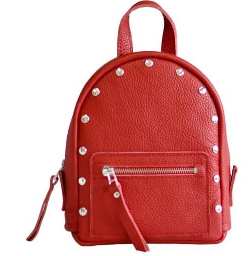 Женский кожаный рюкзак Jizuz Baby Sport BS23177R, красный