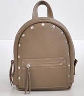 Женский кожаный рюкзак Jizuz Baby Sport BS23177BE, бежевый, фото 1