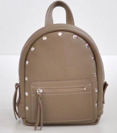 Женский кожаный рюкзак Jizuz Baby Sport BS23177BE, бежевый