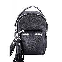 Женский кожаный рюкзак Jizuz Original Scotty OS19147B, черный, фото 1