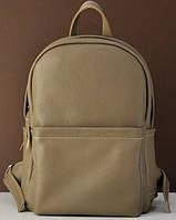 Кожаный рюкзак Jizuz Carbon CN372811BE, бежевый, фото 1