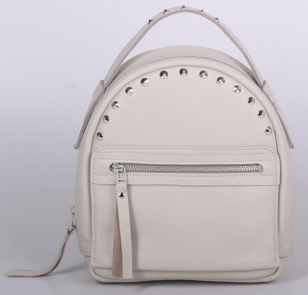 Женский кожаный рюкзак Jizuz Fiji FJ25219M, бежевый