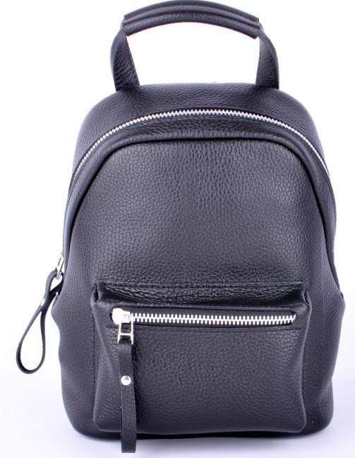Женский кожаный рюкзак Jizuz Urban UB28219B, черный