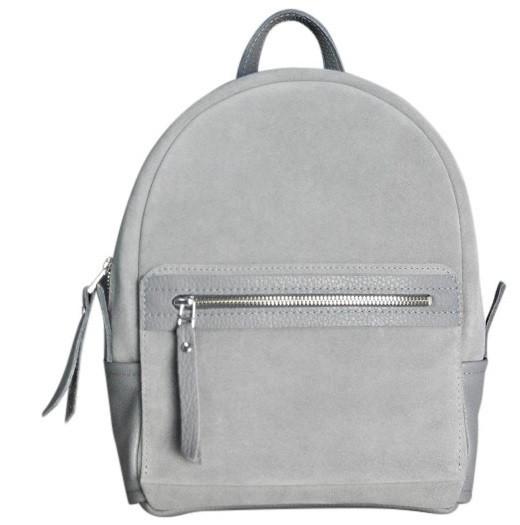 Женский замшевый рюкзак Jizuz Sport SP292310GZ, серый