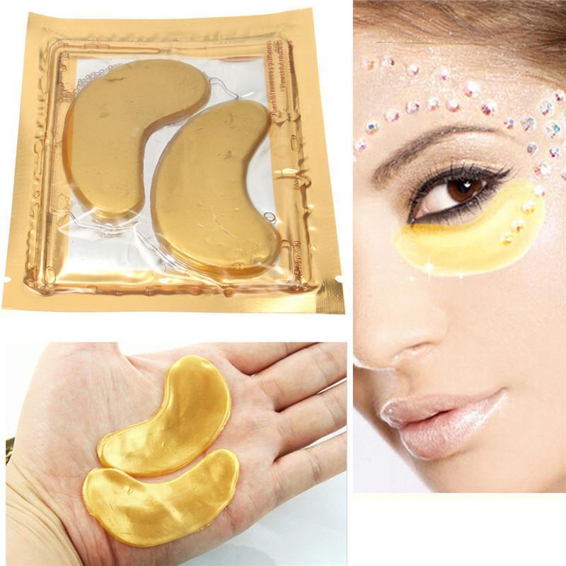 Маска золотая, коллагеновая с био-золотом для глаз