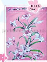 Простынь махровая Le Vele Delta Pink 180х230 см