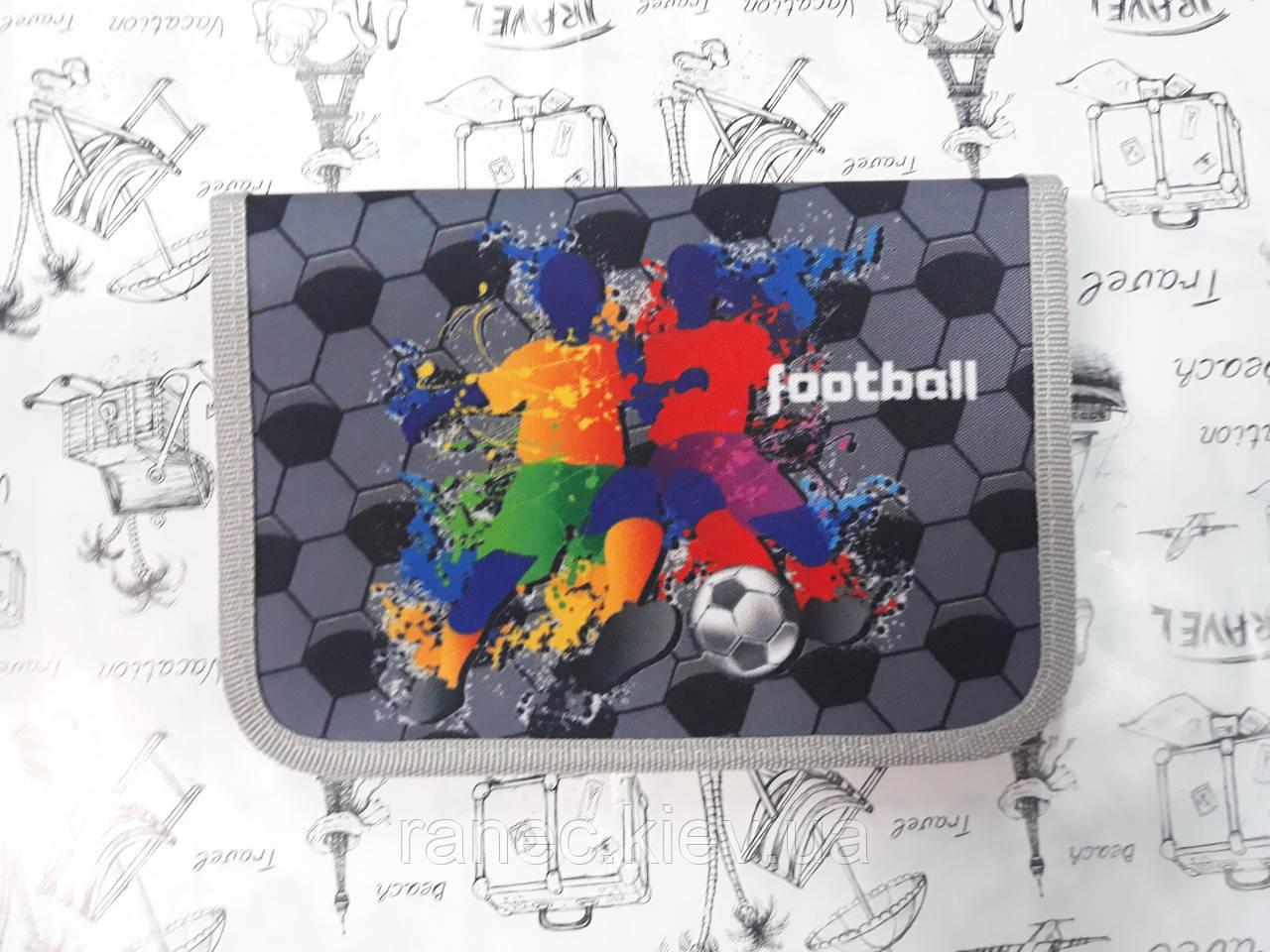 Пенал Football 1 отдел 2 отворота расписание