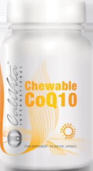 CHEWABLE CoQ10 ORANGE FLAVOUR Кофермент Q10 (капсулы, 60 шт.)