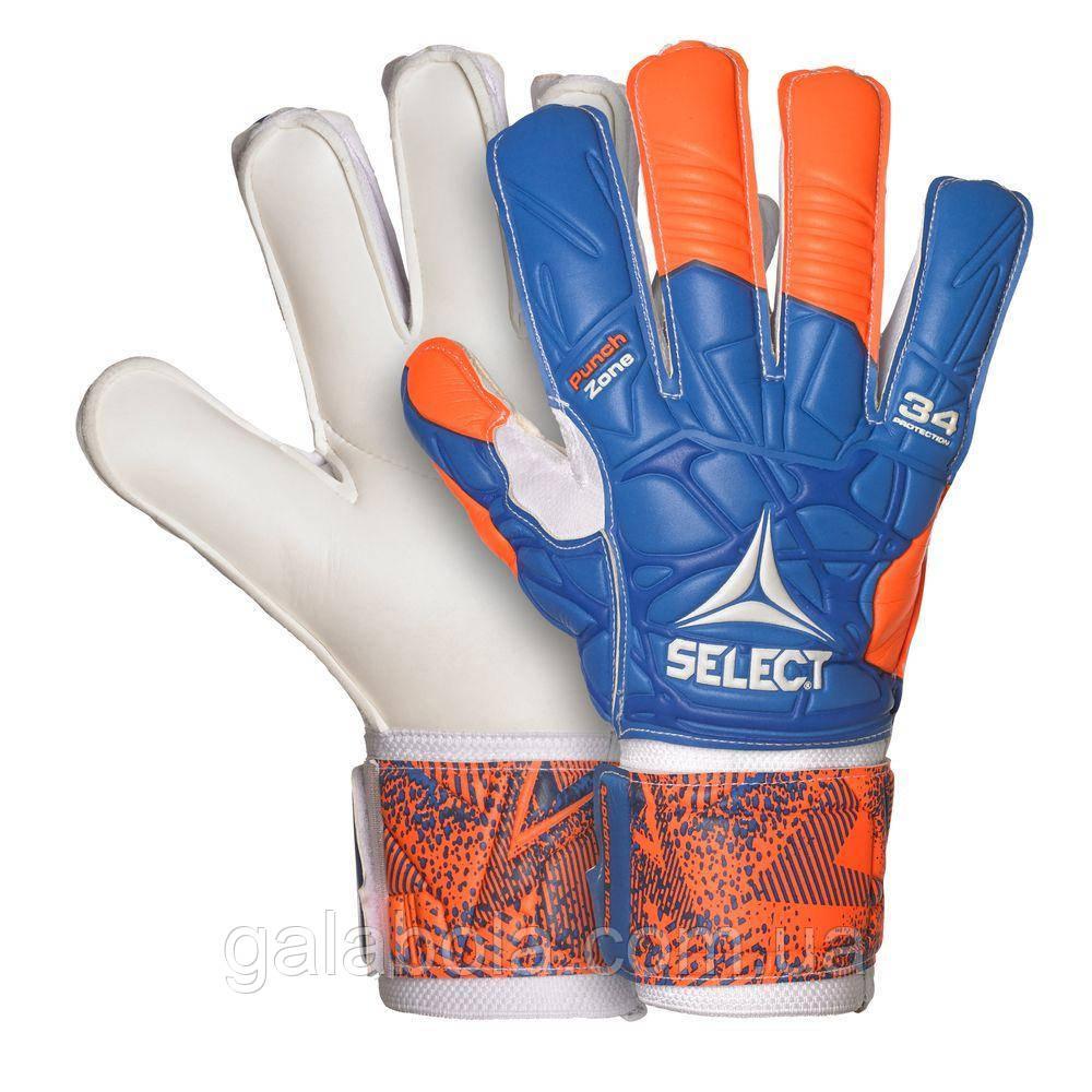 Вратарские перчатки SELECT 34 Allround (с защитой пальцев)