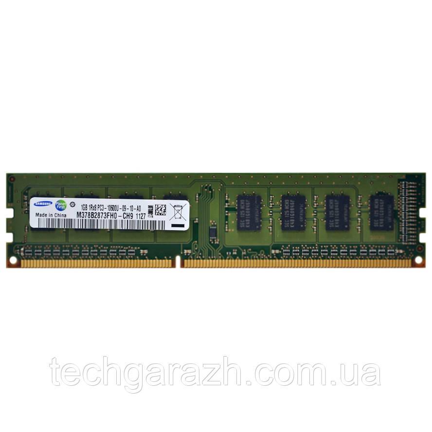 Модуль памяти для компьютера DDR3 1GB 1Rx8 1333MHz PC3-10600U Samsung CL9 (M378B2873FH0-CH9)