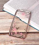 Чохол силіконовий TPU Glaze rose gold для Xiaomi Redmi 4A, фото 2