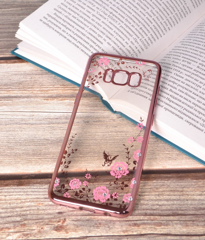 Чохол силіконовий TPU Glaze rose gold для Samsung Galaxy S8 Plus/G955