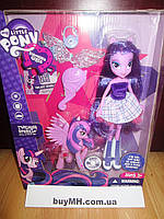 Кукла Твайлайт Спаркл Искорка и Пони My Little Pony Equestria Girls Twilight Sparkle Doll and Pony, фото 1