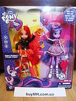 Сансет Шиммер и Твайлайт Спаркл My Little Pony Equestria Girls Sunset Shimmer and Twilight Sparkle