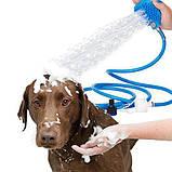 Щетка-душ для мойки животных 2Life BD-188 Голубой (n-474), фото 5
