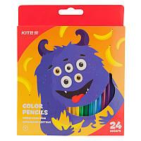 Карандаши цветные KITE Jolliers, 24 цвета (K19-055-5)