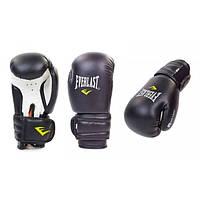 Перчатки боксерские PVC на липучке ELAST (черный)