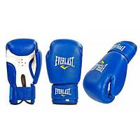 Перчатки боксерские PVC на липучке ЮНИОР ELAST, ZEL (синий)