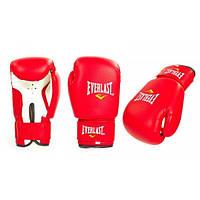 Перчатки боксерские PVC на липучке ЮНИОР ELAST, ZEL (красный)