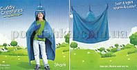 Плед-накидка детский Le Vele Shark  размер 68х100 см