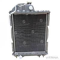 Радиатор водяной МТЗ (Д-240) 4-х рядный медный | 70У-1301010 (Польша)