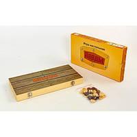 Нарды настольная игра деревянные NN-9 (39см x 39см)