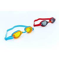 Очки для плавания детские SPEEDO  JET JR OK-65 (полипропилен, CP, TPR, силикон, цвета в ассорт)