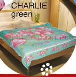 Простынь махровая Le Vele Charlie Green 180х230 см