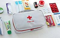 Дорожня Аптечка велика, органайзер, сумка для ліків, зберігання