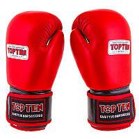 Боксерские перчатки TopTen, кожа