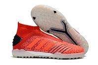 Футбольные сороконожки adidas Predator Tango 18+ TF Active Red/Solar Red/Core Black, фото 1