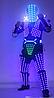 Led одежда Noblest Art костюм робота (LY31191)
