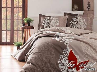 Комплект постельного белья R7427 brown