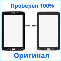 Оригинальный сенсорный экран Samsung T116 Galaxy Tab 3 Lite 7.0 черный (тачскрин, стекло в сборе), Оригінальний сенсорний екран Samsung T116 Galaxy