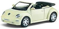 Автомодель металлическая 1:32 Volkswagen New Beetle Convertible KT5073W Kinsmart