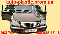 Задний бампер ГАЗ 31105 цвет ТИГРИНЫЙ ГЛАЗ(темно-желтый металлик), №27Заводской