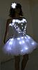 Led одежда Noblest Art платье-шоу (LY31192)