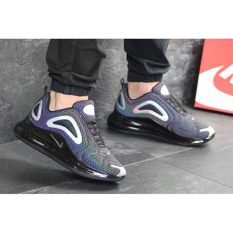 85bb2d77 Мужские кроссовки Nike Air Max 720 Iridescent черные р.42 Акция -49 ...