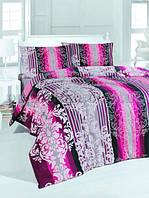 Постельное белье Issimo ARIANNA PINK (PEMBE) Двуспальный евро комплект
