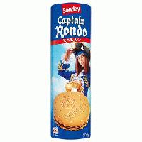 Sondey Captain Rondo – печенье с шоколадно-кремовой прослойкой, 500 гр.