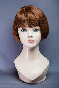 Натуральный парик №15, Цвет молочный шоколад