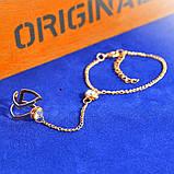 """Оригинальный комплект кольцо с браслетом """"Жанетт"""" 14129, фото 2"""