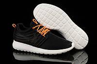 Кроссовки мужские Nike Roshe Run (найк роше ран) черные