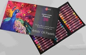 Пастель масляна 36 кольорів Santi
