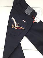 Котонові штани 6 рочки, темно-сині