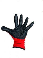 Перчатки рабочие стрейч залитые (дачные)